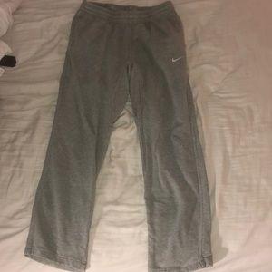 Men's gray Nike sweatpants